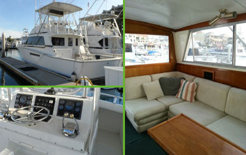 "Cabo Fishing Charter Boat, ""Baja Breeze"""