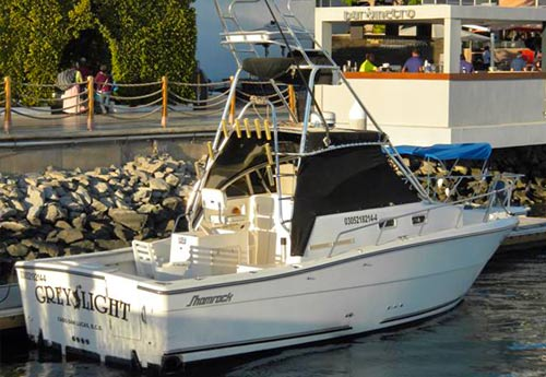 "Cabo Charter Fishing boat, ""Grey Light"""